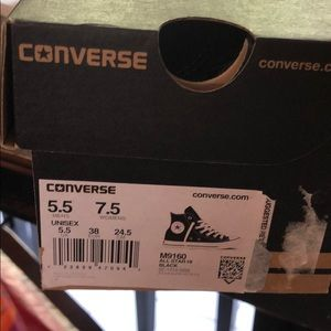 Brand New Converse High Tops